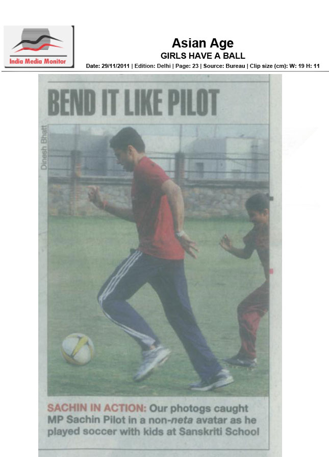 Delhi Times 26th Nov 2011