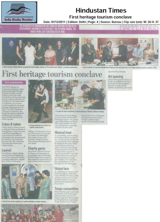 Hindustan Times Live 1st Dec 2011