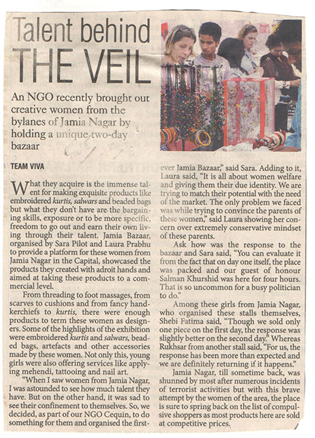 Jamia Bazaar 2011 article 03